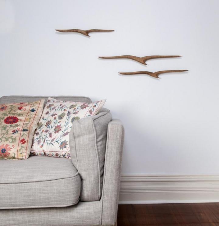 Wanddekoration – Albatros Gruppe Teak