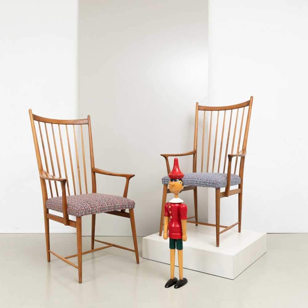 50er Jahre Armlehnen-Stühle