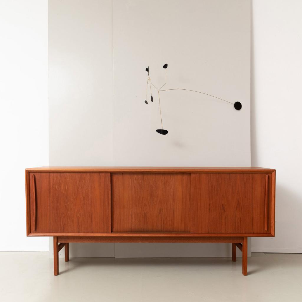 60er Jahre B. Pedersen Teak Sideboard