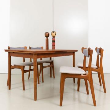 Schiønning & Elgaard Teak Stühle