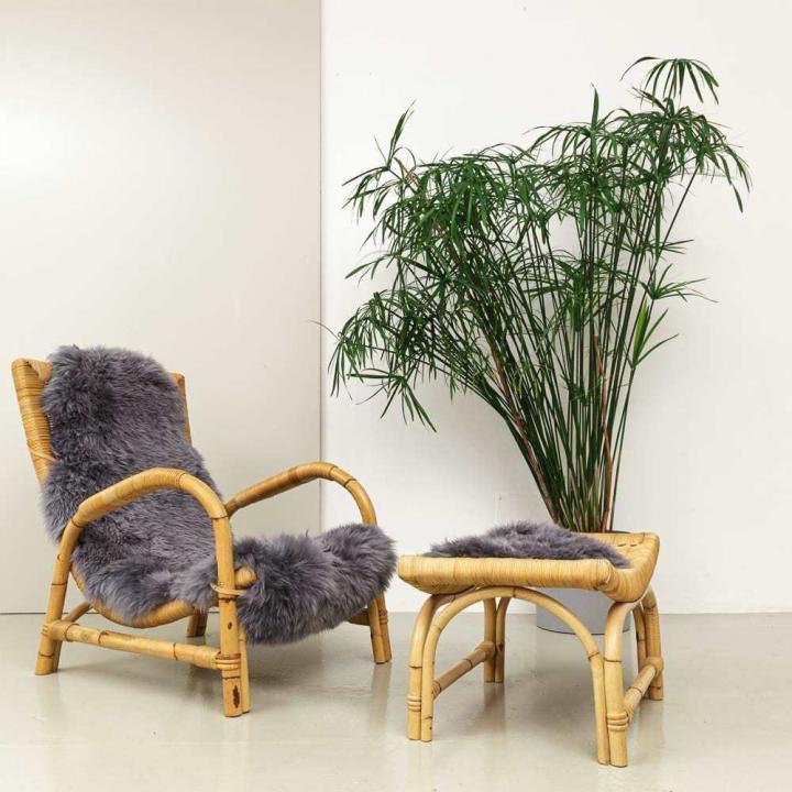 1960er Jahre Bambus Sessel