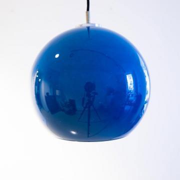 1970er Jahre Peil & Putzler Kugel Deckenlampe