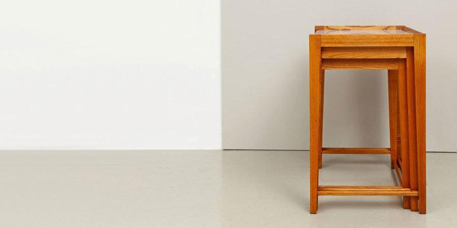 50er Jahre Satztische Karl Eichhorn, Rego-Möbelwerk