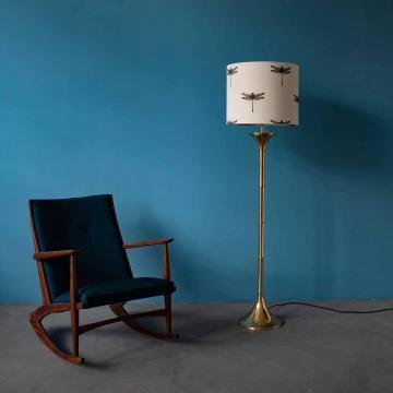 Ingo Maurer Bamboo Stehlampe, 60er Jahre