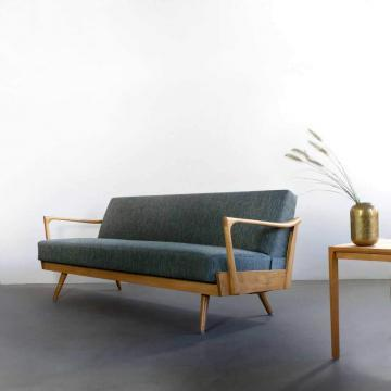 Daybed, Sofa, 50er Jahre, Mid-century