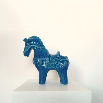 Keramik Pferd, Aldo Londi für Bitossi, ickestore