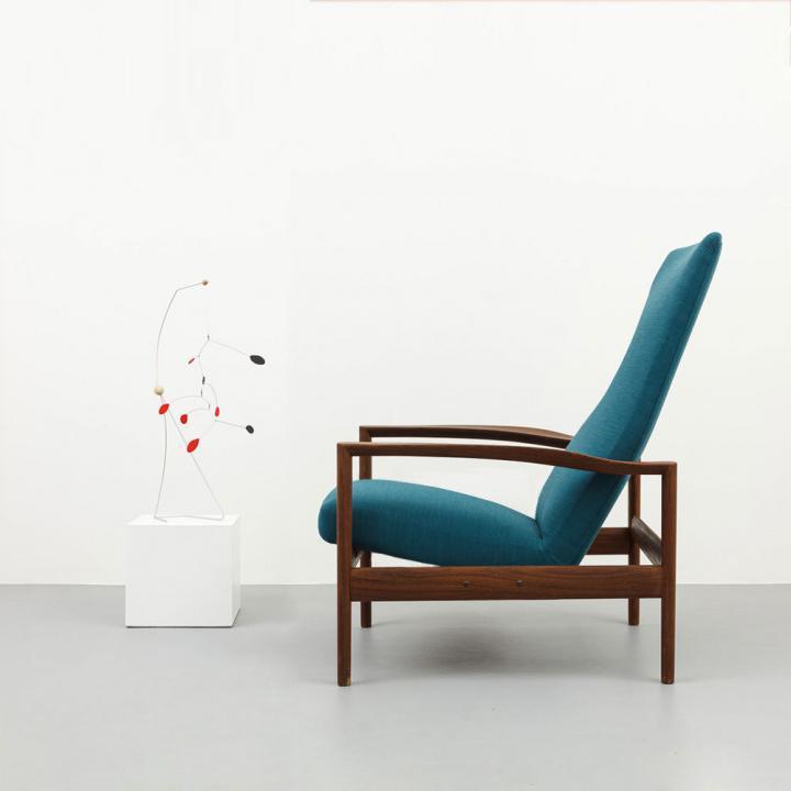 Lounge Chair Palisander 60er Jahre
