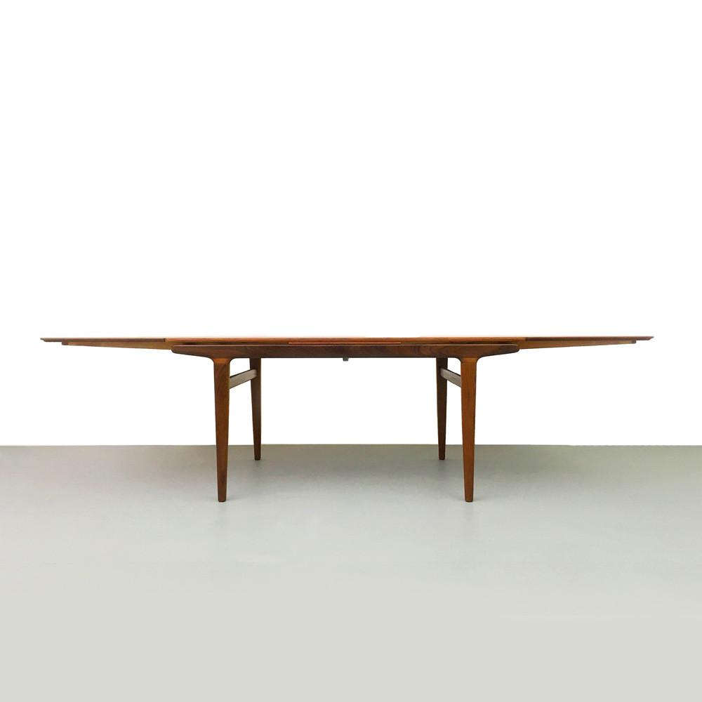 Teak Esstisch, Johannes Andersen, Uldum Möbelfabrik, ickestore