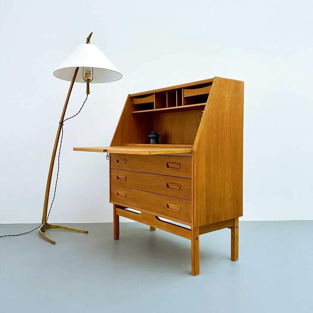 Sekretär, Danish Design, Eiche, 60er Jahre