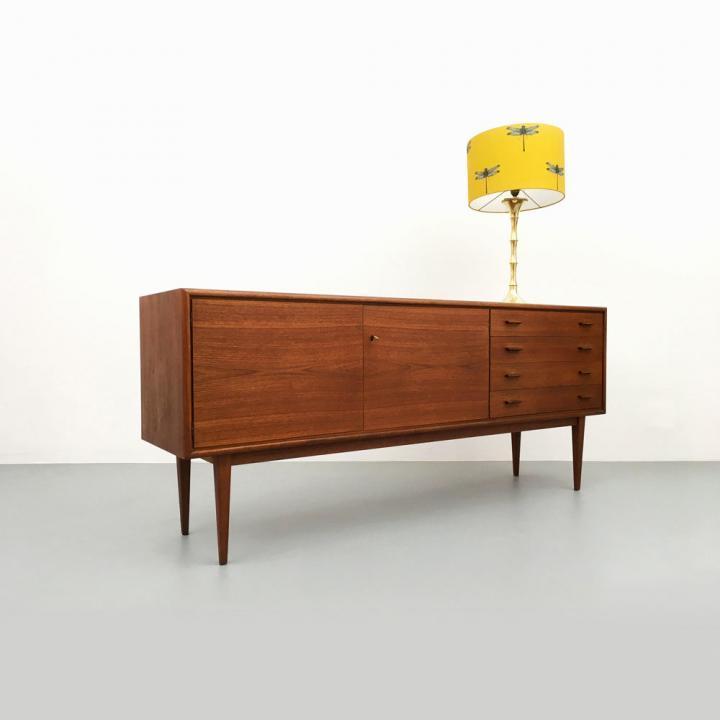 WK Möbel Teak Sideboard Mid-century modern