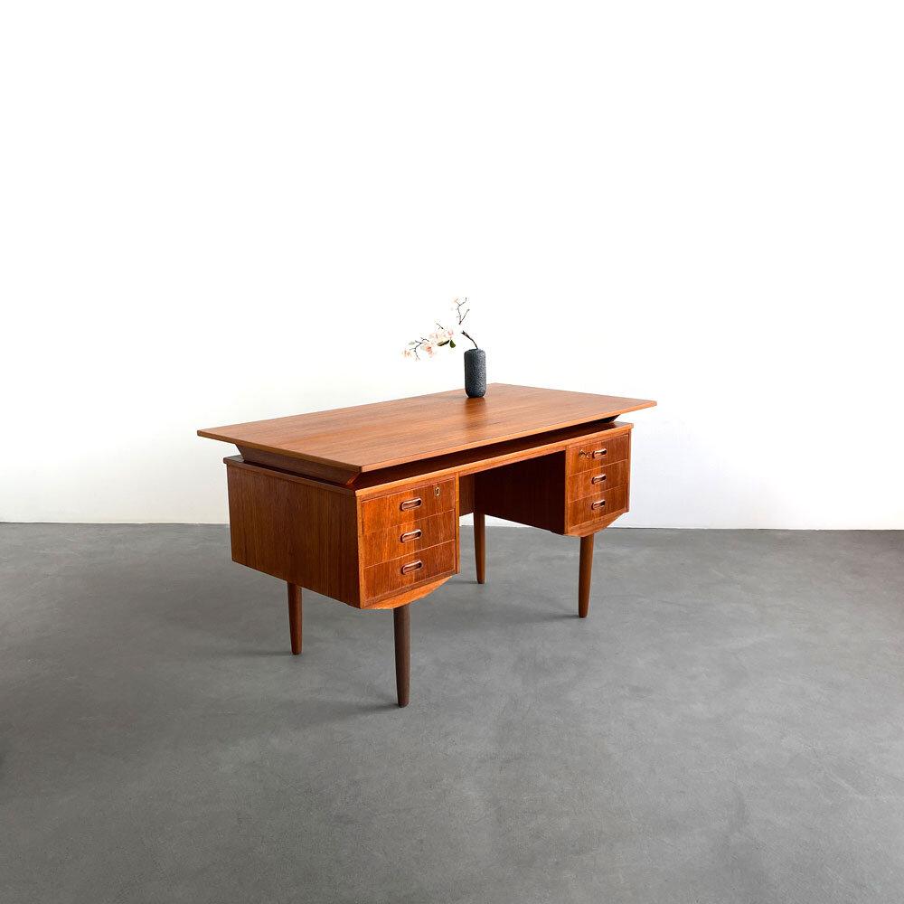 Schreibtisch, Dänisches Design, Teak