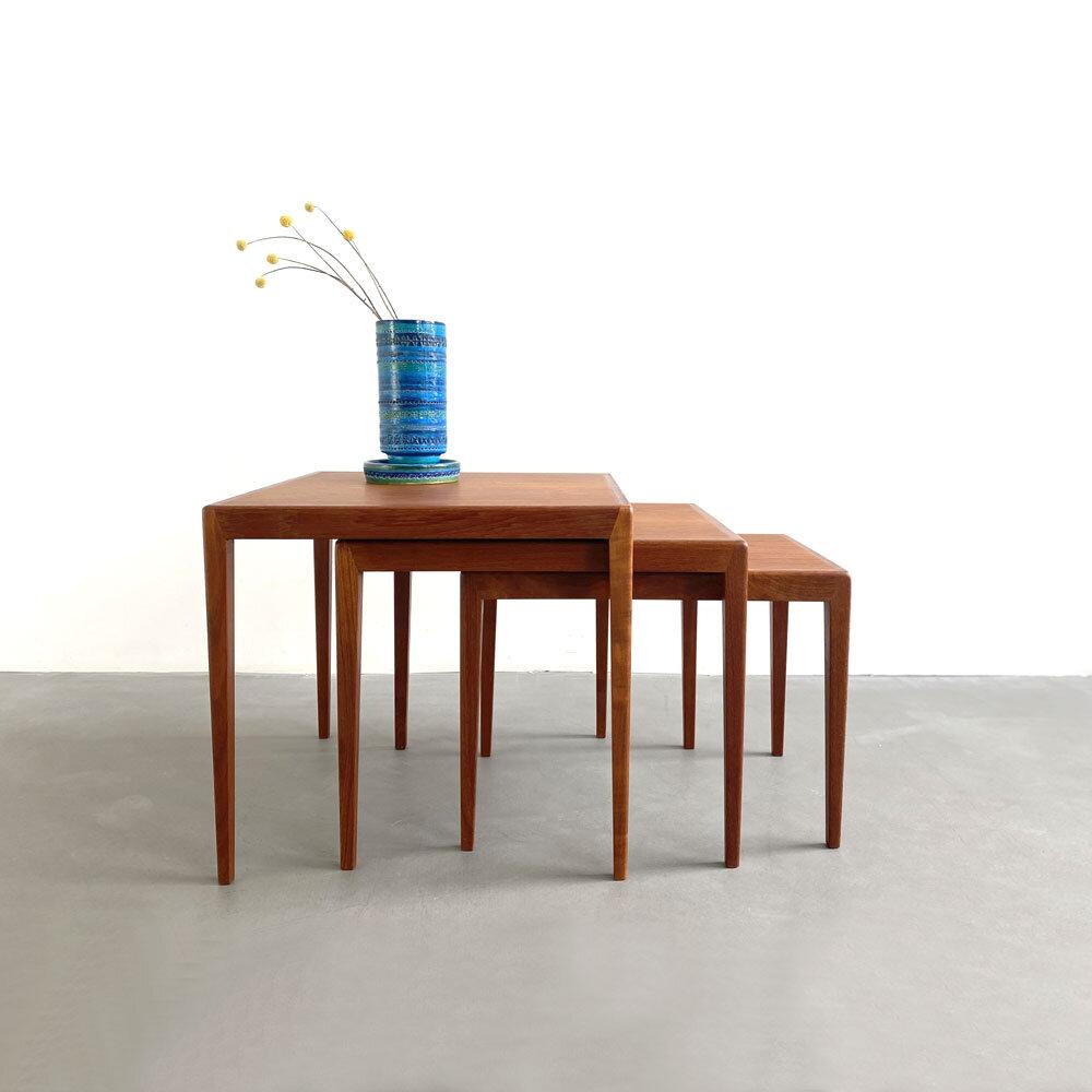 Satztische, Nesting Tables in Teak, ickestore