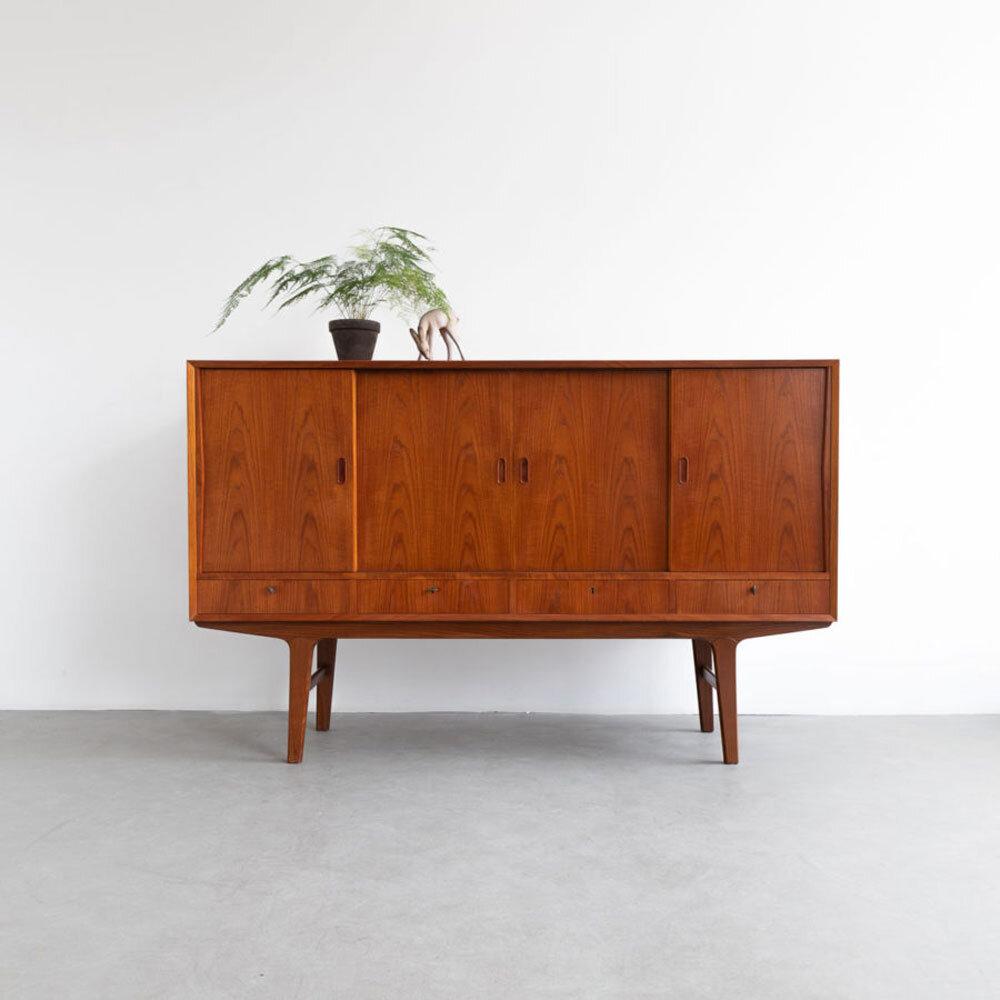 Teak Sideboard, Dänemark, 60er Jahre