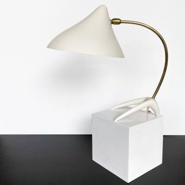 Louis Kalff Tischlampe 50er Jahre
